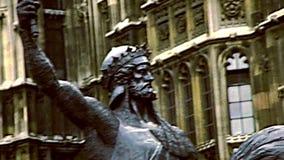 Estátua de Richard Coeur de Lion de Londres filme