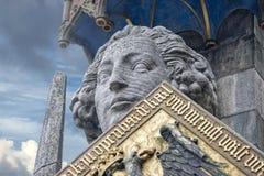Estátua de Roland Brema Foto de Stock