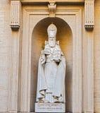 Estátua de S Gregorius Armeniae Illuminator no museu do Vaticano Fotos de Stock Royalty Free