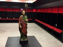Estátua de Saint Judas Tadeu imagem de stock royalty free