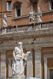 Estátua de Saint Paul em Vatican Fotografia de Stock
