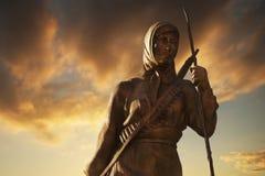 Estátua de Serife Baci Kastamonu, Turquia Imagem de Stock Royalty Free