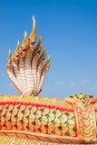 Estátua de sete cabeças do naga Foto de Stock Royalty Free