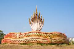 Estátua de sete cabeças do naga Imagem de Stock