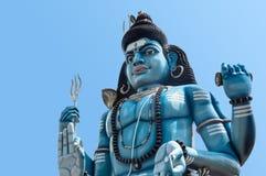 Estátua de Shiva do deus no templo hindu em Trincomalee, Sri Lanka imagem de stock royalty free
