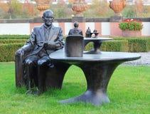 Estátua de Sigmund Freud Fotos de Stock Royalty Free