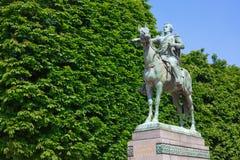 Estátua de Simon Bolivar em Paris Imagens de Stock Royalty Free