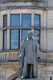 Estátua de Sir Mathew Wilson, baronete, por Albert Bruce-Joy, 1888 - Skipton, North Yorkshire fotos de stock royalty free
