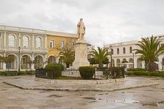 Estátua de Solomos Imagem de Stock