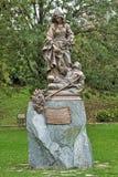 Estátua de St Elizabeth de Hungria em Bratislava, Eslováquia Foto de Stock Royalty Free