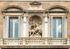 Estátua de St George Imagens de Stock