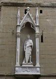 Estátua de St George por Donatello imagens de stock royalty free
