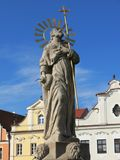 Estátua de St James em Pelhrimov Imagem de Stock