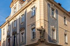 Estátua de St Peter em Praga Imagem de Stock Royalty Free