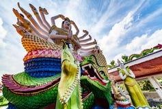 Estátua de surpresa em Tailândia imagens de stock royalty free