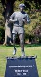 Estátua de Terry Fox Imagens de Stock