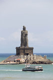 Estátua de Thiruvalluvar no kanyakumari Foto de Stock Royalty Free