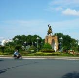 Estátua de Tran Nguyen Han Imagem de Stock