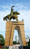 Estátua de Tran Nguyen Han Fotografia de Stock Royalty Free
