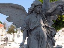 Estátua de um anjo Fotografia de Stock Royalty Free