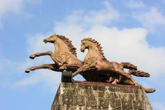 A estátua de um cavalo Foto de Stock