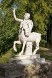 Estátua de um centauro, parque de Pavlovsk, St Petersburg Foto de Stock