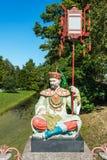 Estátua de um homem chinês Imagem de Stock Royalty Free