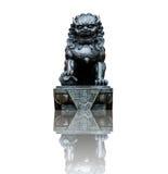 Estátua de um leão Fotos de Stock Royalty Free
