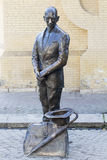 Estátua de um mendigo Foto de Stock