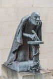 Estátua de um penman católico em Saint Magdalena da capela em Petri Fotografia de Stock