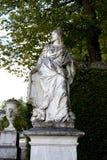 Estátua de uma mulher fotos de stock royalty free