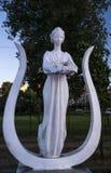 Estátua de uma mulher Fotografia de Stock Royalty Free