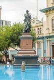 Estátua de Vicente Rocafuerte em Guayaquil, Equador Fotos de Stock Royalty Free