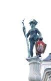 Estátua de Wilder Mann Wild Man em Salzburg Fotos de Stock
