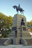 Estátua de William Sherman Foto de Stock