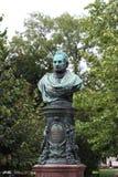 Estátua de Zelinka Viena fotos de stock royalty free