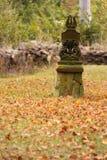 Estátua devotional pequena foto de stock royalty free