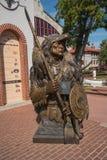 Estátua distante da esperança em Fort Worth, Texas fotos de stock