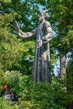 A estátua do ¼ e de Niklaus von Flà do eremita de Saint imagem de stock royalty free