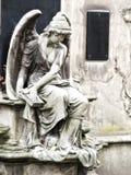 Estátua do anjo Fotos de Stock Royalty Free
