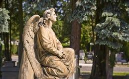 Estátua do anjo Imagem de Stock