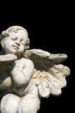 Estátua do anjo do jardim Fotografia de Stock Royalty Free