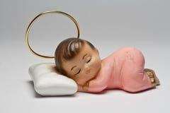 Estátua do anjo do sono Imagens de Stock