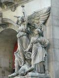 Estátua do anjo em Paris, França Fotografia de Stock Royalty Free