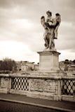 Estátua do anjo, Roma Imagem de Stock
