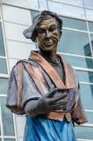 Estátua do artista em Omaha Foto de Stock Royalty Free
