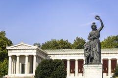 Estátua do bavaria imagem de stock royalty free