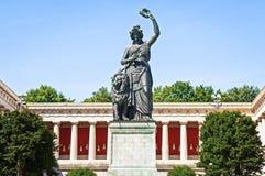 Estátua do bavaria fotos de stock