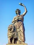Estátua do bavaria fotos de stock royalty free