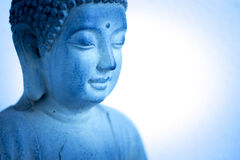 Estátua do budhist de Budha na barra de Ibiza fotos de stock